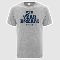 "519 Sports Online - ""5th Year Dream"" Tee"